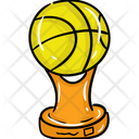 Volleyball Trophy Icon