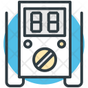 Volt Meter Ampere Icon