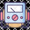 Volt Meter Analog Multimeter Digital Meter Icon
