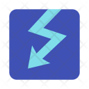 Voltage Bolt Thunder Icon