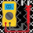 Electrical Tester Multimeter Voltage Meter Icon