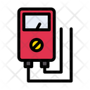 Voltage Measure Current Icon