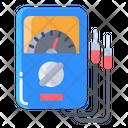 Gammeter Ammeter Mesure Valt Icon