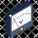 Panel Meter Ampere Meter Digital Meter Icon