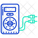 Voltage Meter Voltmeter Multimeter Icon