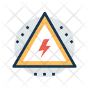 Voltage Warning Sign Icon