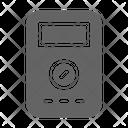 Voltmeter Voltage Electricity Icon