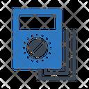 Voltmeter Ampere Device Icon