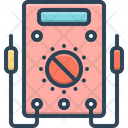 Voltmeter Ammeter Resistance Icon