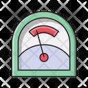 Voltmeter Measure Science Icon