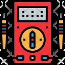 Voltmeter Automotive Measured Icon