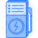 Voltmeter Electric Filling Icon