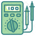Voltmeter Multimeter Energy Icon
