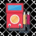 Voltmeter Ampere Current Icon