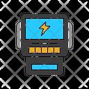 Voltmeter Watt Meter Amperemeter Icon