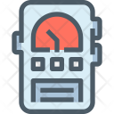Meter Voltmeter Ammeter Icon