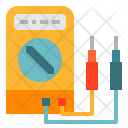 Voltmeter Electricity Tool Icon