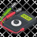 Voltmeter Ammeter Galvanometer Icon