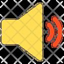Sound Low Volume Sign Icon