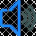 Volume Up Speaker Icon