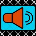 Volume Megaphone Announcement Icon
