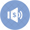 Volume With Dollar Icon