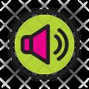 Unmute Music Player Icon