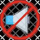 Volume No Music Sign Icon