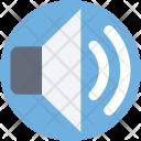 Volume Loud Speaker Icon