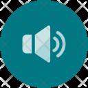 Volume On Speaker Icon