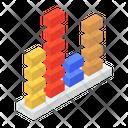 Bar Graph Bar Chart Volume Chart Icon