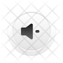 No Sound Skeuomorph Icon