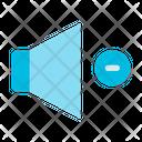 Volume Down User Interfaces Icon