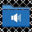 Volume Folder Volume Sound Icon