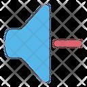 Volume Sound Down Icon