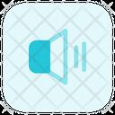 Volume On High Volume Speaker Icon