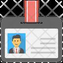 Volunteer Card Id Badge Identity Card Icon
