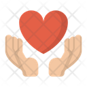 Care Charity Hands Icon