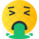 Barf Smiley Avatar Icon