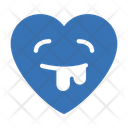 Vomiting Face Heart Icon