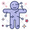 Voodoo Voodoo Doll Magic Doll Icon