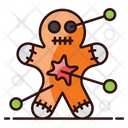 Voodoo Scary Doll Witchcraft Icon