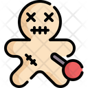 Voodoo Dark Magic Voodoo Doll Icon