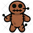Voodoo Doll Witchcraft Icon