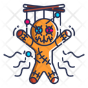 Voodoo Doll Symbol Icon