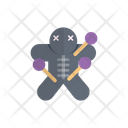 Voodoo Doll Scary Icon
