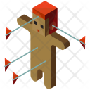 Voodoo Doll Black Icon