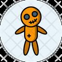 Voodoo Doll Dark Magic Halloween Icon