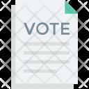 Vote Public Reward Icon