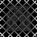 Linear Icon Vote Icon